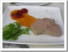 טה כבד עוף עם ריבת עגבניות שרי